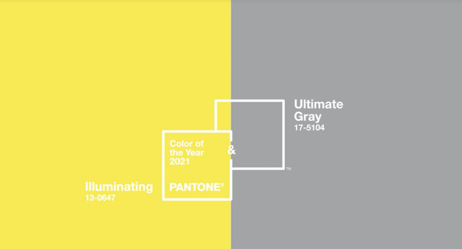 2021 PANTONE年度代表色出爐囉!雙色「極致灰」和「亮麗黃」帶來堅毅與希望