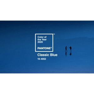 Pantone 2020年度代表色「Classic Blue經典藍」