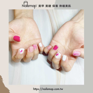 最少女心的顏色~充滿泡泡的粉桃紅指彩